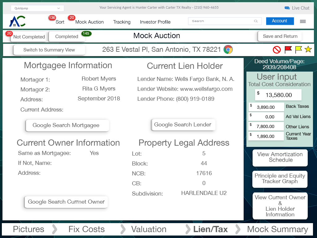 17.44 iPad Investor Log In Screen