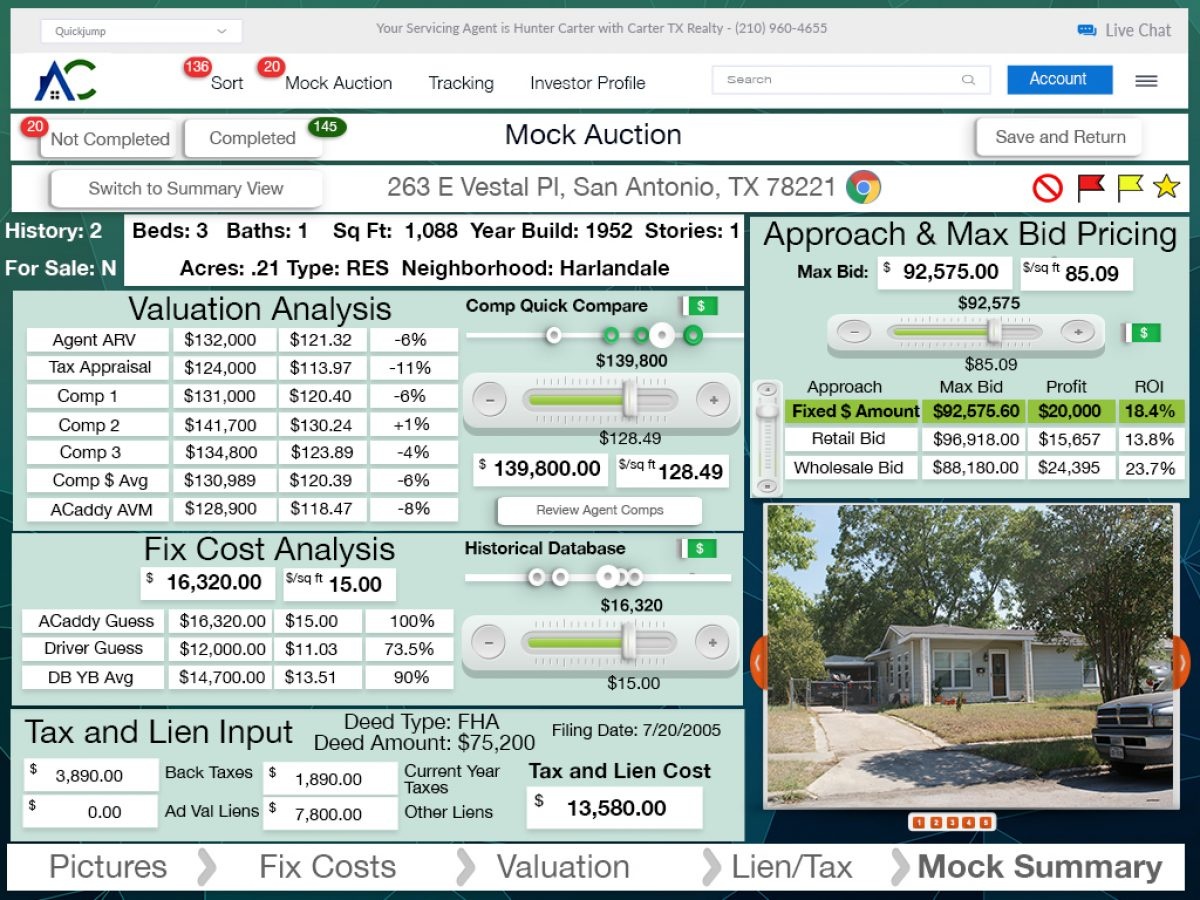 20 iPad Investor Log In Screen